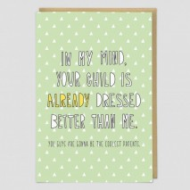 Cool Parents Greeting Card