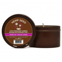 Hemp Seed Massage Candle by Earthly Body